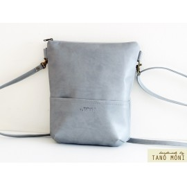 MIDDLE BAG táska galambszürke (új)