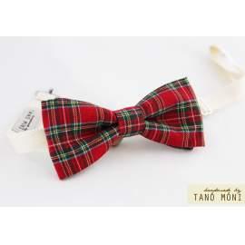 Bow Tie Csokornyakkendő skót kockás (új)
