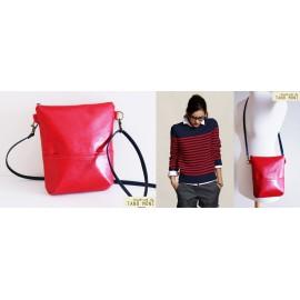 MIDDLE BAG táska piros (új)