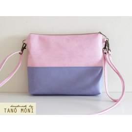 CLUTCH BAG táska levendula pink rózsaszín