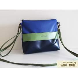 CLUTCH BAG táska sötétkék zöld királykék