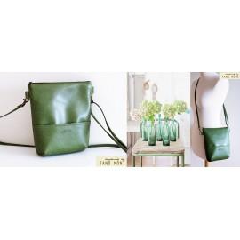 MIDDLE BAG táska zöld (új)