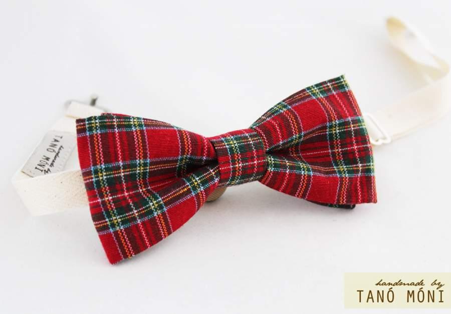 231b11d1d9 Bow Tie Csokornyakkendő skót kockás (új) ...