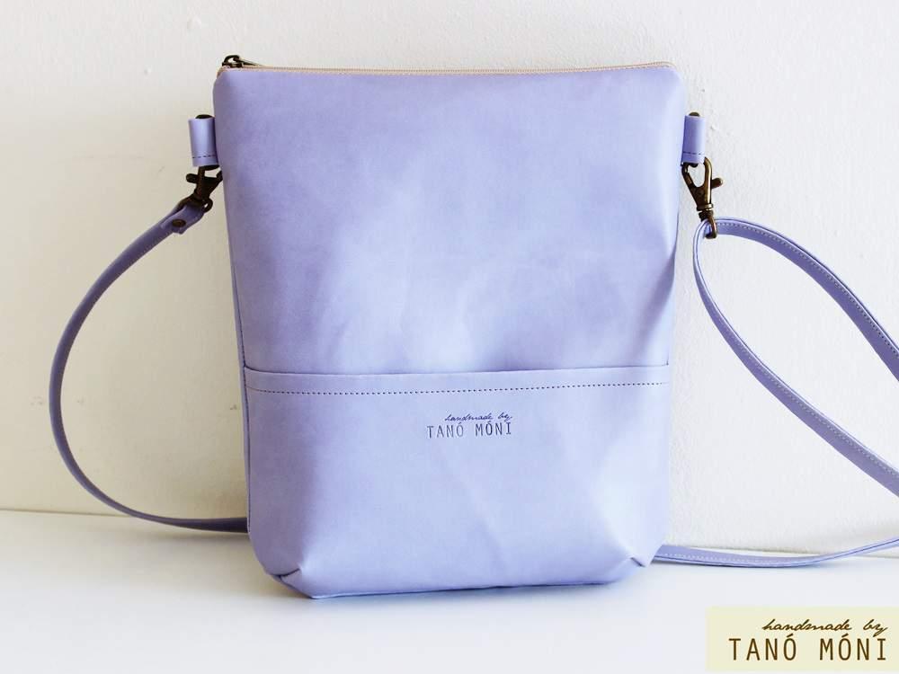 MIDDLE BAG táska levendulalila (új)